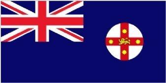 1000 Flags Drapeau Australie Nouvelle-Galles du Sud 150 cm x 90 cm
