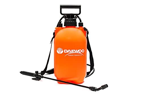 Daewoo Pulvérisateur à pression DAPSP5L - Lance à fibre de verre 5 l - Capacité de 5 l - Pression 0,2-0,3 MPa - Buse réglable