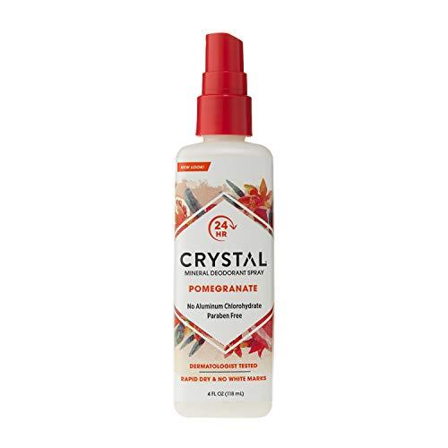Crystal Mineral Deodorant Spray, Pomegranate, 4.0 oz, Pack of 2