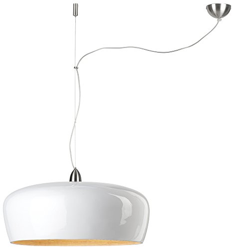 It's about RoMi HANOI Suspension, Bambou, E27, 60 W, Blanc