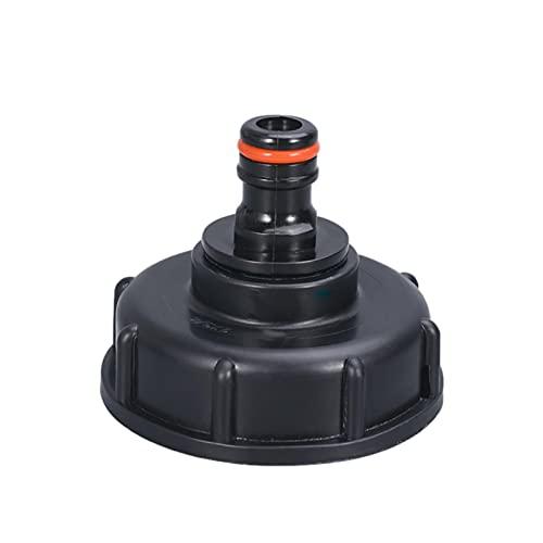 Grifo de agua del tanque de salida IBC - Válvula de grifo para riego de jardín Adaptador de Grifo de Tanque IBC Grifo de Drenaje de Agua de Grifo 3/4 '' Rosca de Grifo de Tanque IBC Adaptador