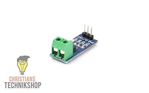 Christian's Technik Shop Stromsensor ACS712 5A Current Sensor mit Analogausgang
