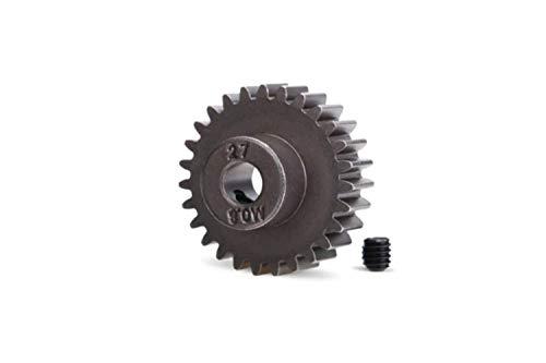 Traxxas 5647 27-Tooth Steel Pinion Gear, Silver