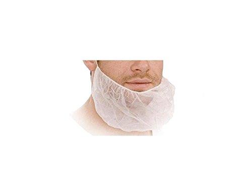 MED-Compfort PP-Bartmasken weiß 100St-1000St Gesichtsschutz Einwegmaske 02040-W, Wunsch:100 Stück
