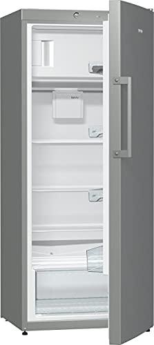 Gorenje RB 6153 BX Kühlschrank mit Gefrierfach / Höhe 145 cm / Kühlen: 229 L / Gefrieren: 25 L / DynamicCooling-System / Anti Fingerprint Beschichtung