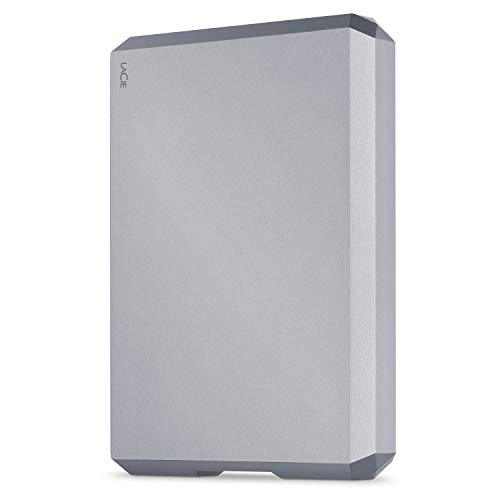 LACIE 5TB Mobile Drive USB 3.1-C Space Grey