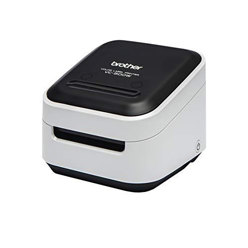 Brother VC-500W - Impresora de Etiquetas a color con WiFI (USB 2.0, Cortador Manual y automático)
