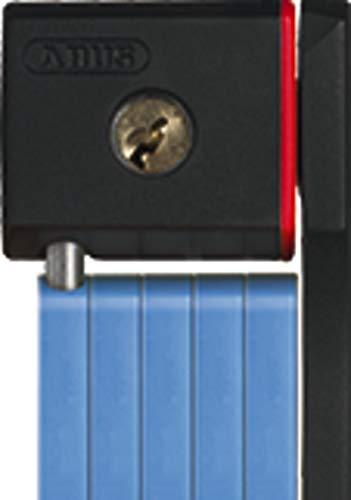 Abus 5700/100 BU SH Candado Plegable, Unisex Adulto, Azul, 100 cm