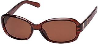 CANCER COUNCIL Women's WATERLOO 1903405 TCC1903405 Polarized Wrap Sunglasses, CHOCOLATE & TORT, 58.6 mm