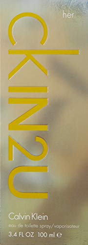 Calvin Klein - In2U for Her - Agua De Tocador Vaporizador, 100 ml