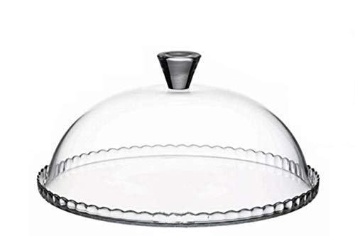 SWEET HOME Glaskuchenplatte mit Glaskuppel cod.2195119 cm 15h diam.32 by Varotto & Co.