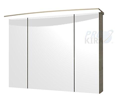 PELIPAL Pineo Spiegelschrank/PN-SPS 11 / Comfort N/B: 100 cm