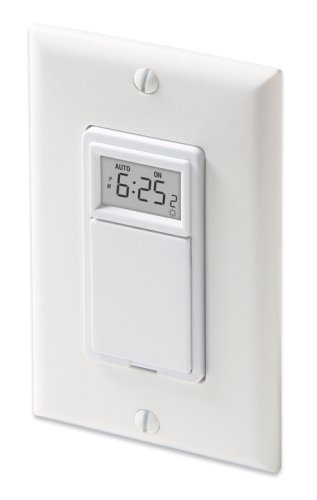 Aube by Honeywell TI035/U Solar Time Table  Programmable Timer Switch White