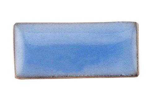 Thompson Enamel - Transparent Colors - 1/2 oz Jar, Lead Free Vitreous Enamel Powder (Sky Blue 2610)