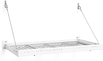 NewAge Products Pro 2-by 4-foot Wall Mounted Steel Shelf