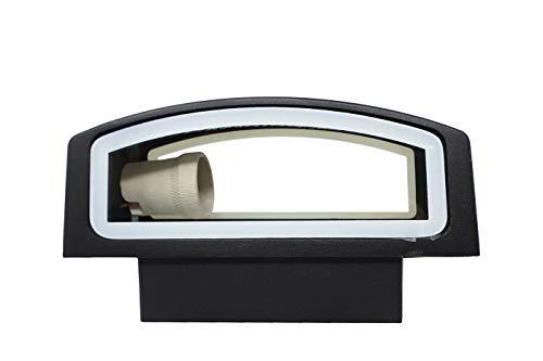 Wandlamp Outdoor 2 Vie wandlamp wandlamp spots E27, zwart