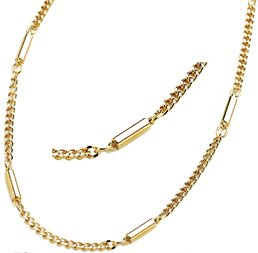 Lowest Price! Super Chain Stainless Steel Magnetic Therapy Necklace, 20 inch, Gold Plated