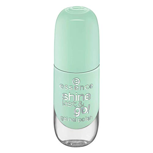 essence shine last & go! gel nail polish, Nailpolish, Nagellack, Nr. 42 everybody say yeah, grün, gelig, scheinend, ohne Aceton, vegan, ohne Konservierungsstoffe (8ml)