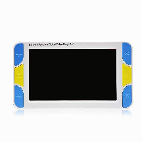Beckye Low Vision Digitale Elektronische Stimme Leselupe,Mobile Lesehilfe mit 5 Zoll LCD-Monitor(4X-32X)