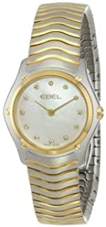 腕時計 EBEL Women's 1215371 Wave Analog Display Swiss Quartz Two Tone Watch【並行輸入品】