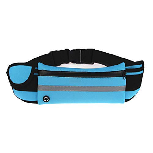 YHF Wasserdichtes Lauf Hüfttasche Telefon Elastic Jogging Sport Hüfttasche Gürteltasche Frauen Männer Laufen Accessoires,G