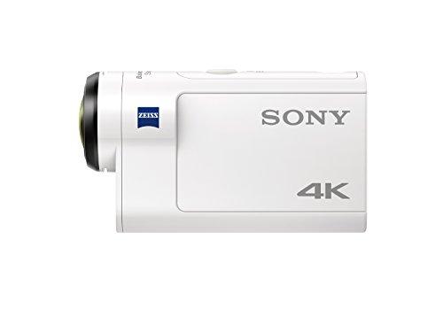 Sony FDR-X3000R 4K Action Cam mit BOSS Live View Remote Fernbedienung – weiß - 2