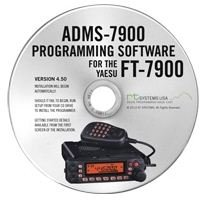 Yaesu ADMS-7900 Programming Software on CD with USB Computer Interface Cable for FT-7900R by RT Systems