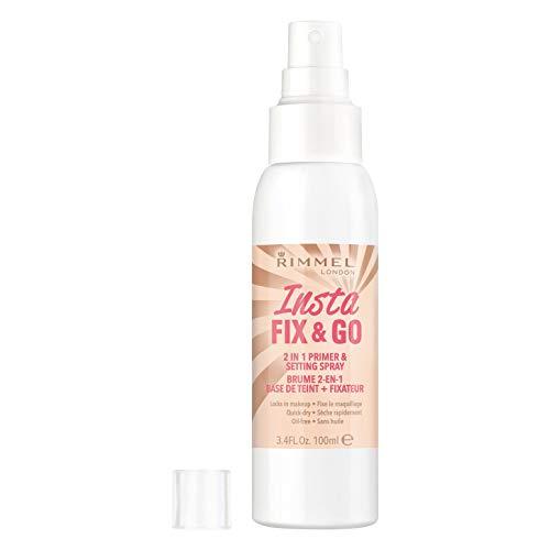 Rimmel Insta Fix & Go Primer & Spray de Réglage...