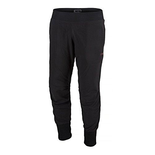 CMP Pantalon de Fitness pour Femme Noir Noir 48
