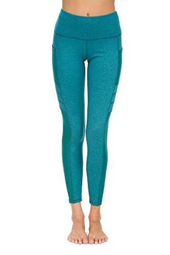 New Mincc Leggings de Sport pour Femme Pantalon Yoga Fitness Minceur Long avec Poches Basique...