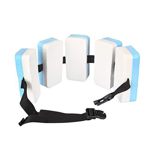 Weesey Schwimmgürtel Kinder, Schwimmübung Einstellbarer Auftrieb Schaum Schwimmgürtel, Schwimmschaum Taillengürtel für Kinder