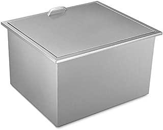 Best stainless steel drop in ice bin Reviews