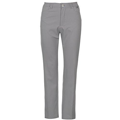 Slazenger Damen Golf Hose Taschen Grau M