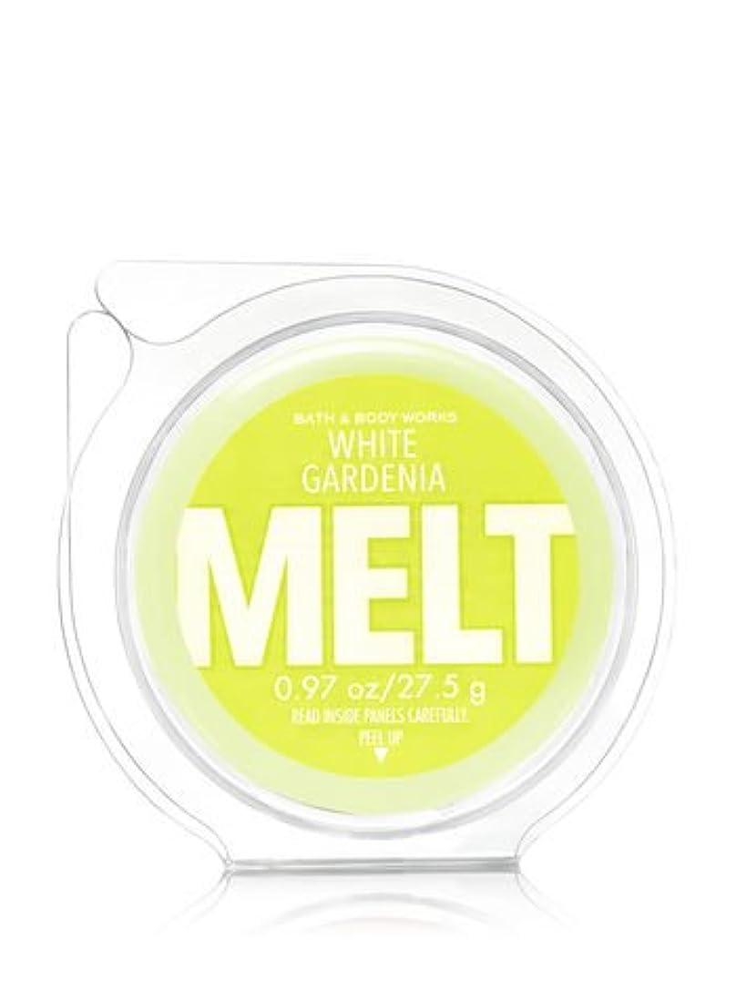 マサッチョ表面ブラウン【Bath&Body Works/バス&ボディワークス】 フレグランスメルト タルト ワックスポプリ ホワイトガーデニア Wax Fragrance Melt White Gardenia 0.97oz/27.5g
