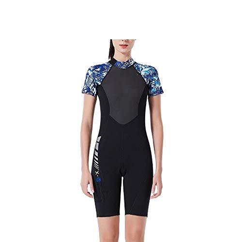Diving Suit Male Siamese Short-Sleeved Couple Swimsuit Female Snorkeling Surfing Suit Cold Jellyfish Clothing