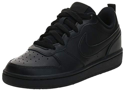 Nike Court Borough Low 2 (Gs) Sneaker, Black 448, 36.5 EU