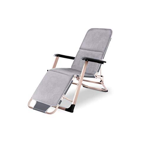 WANG XIN Cama Plegable Cama Individual Oficina Almuerzo Pausa para la Siesta Sillón reclinable al Aire Libre Silla Plegable Hospital Cama de acompañamiento Sentado y acostado