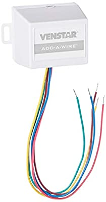 Venstar ACC0410 Add-A-Wire Accessory for All 24 VAC Thermostats (4 to 5 Wires), White