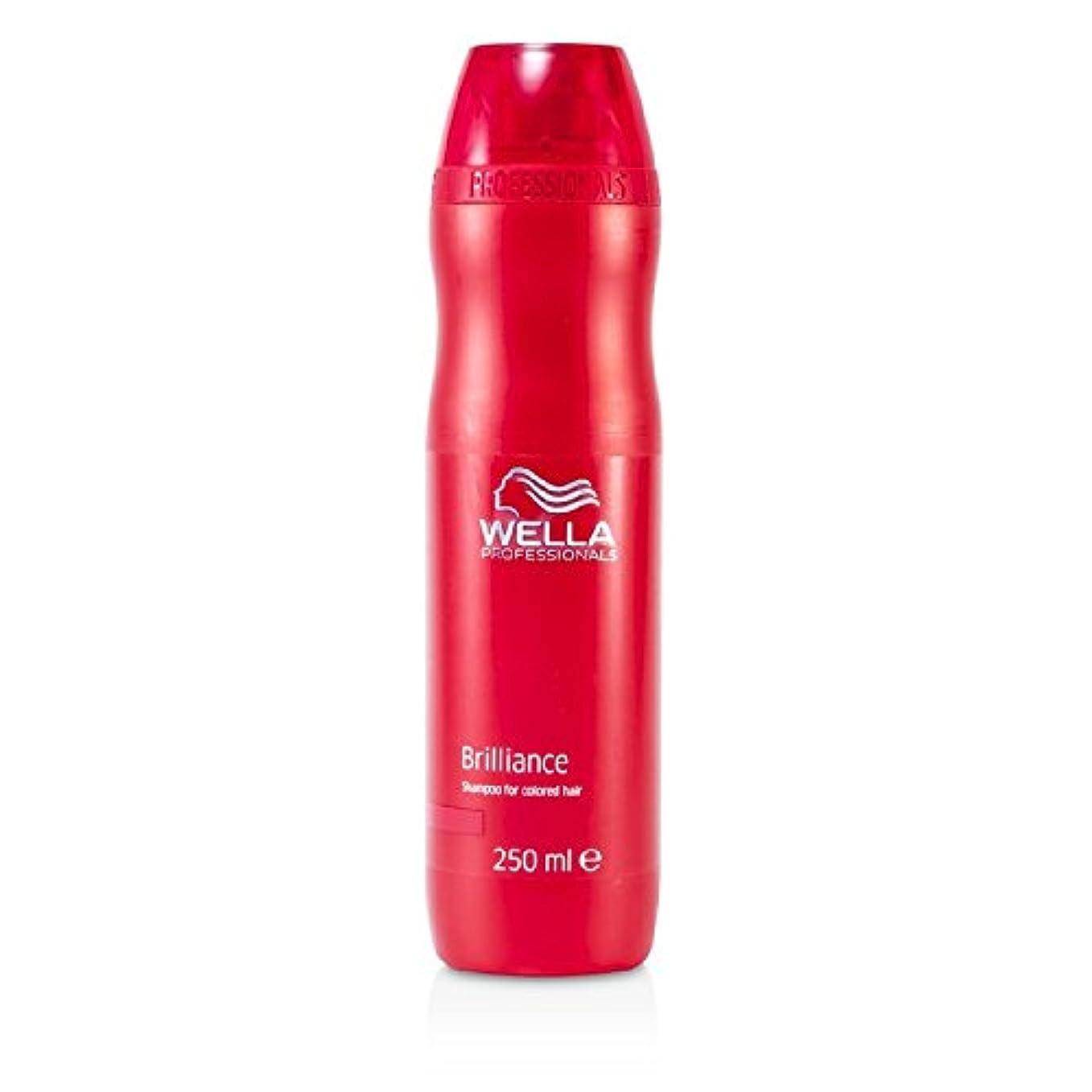 静めるコールド排気ウエラ ブリリアンス シャンプー (染めた髪用) 250ml/8.4oz並行輸入品