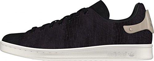 Adidas Stan Smith Metal - cblack/cblack/goldmt, Größe Adidas:5.5