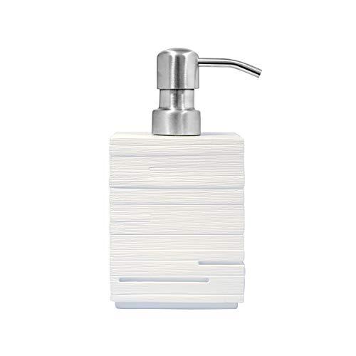 RIDDER 22150501 - Dispenser Sapone Brick, Colore: Bianco