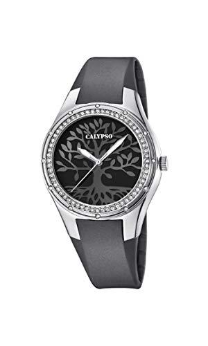 Calypso Quarz Uhr mit Kunststoff Armband K5721/D