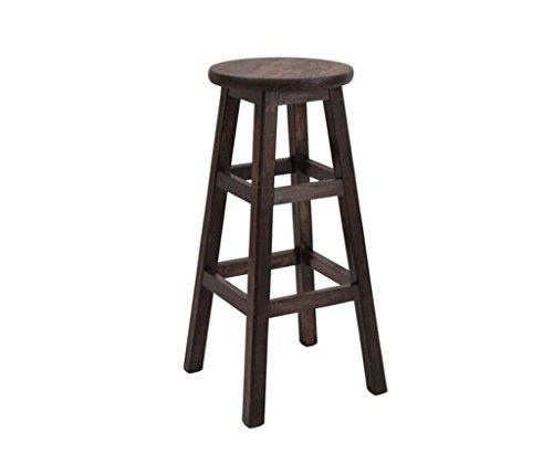 Tabouret en bois Tabouret de bar Tabouret en bois massif/Chaises de bar minimalistes modernesChaise de bar de loisirs (Couleur : A)