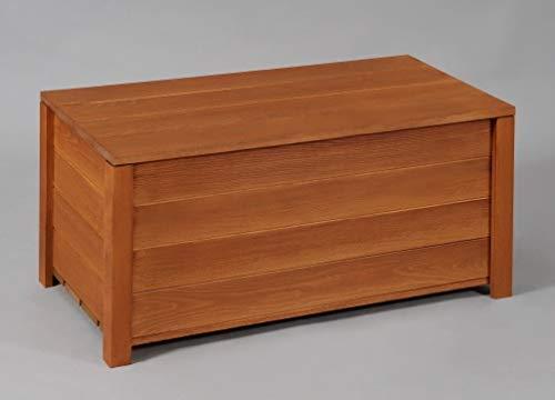 収納ボックス付きベンチ匠・チーク色・横幅60cm(木製ストッカー・収納ベンチ)日本製・完成品