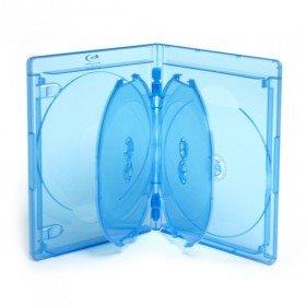 Blu-ray DVD 5er Hüllen Elite 15 mm Blau, 5 Stück