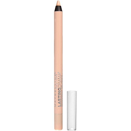 Maybelline New York Eyestudio Lasting Drama Waterproof Gel Pencil, Soft Nude, 0.037 Ounce