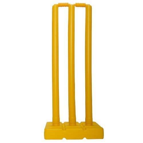ND Sports Himanshu-ND Plastic Stump Cricket-Stäbe und-bügel-Set, Einheitsgröße