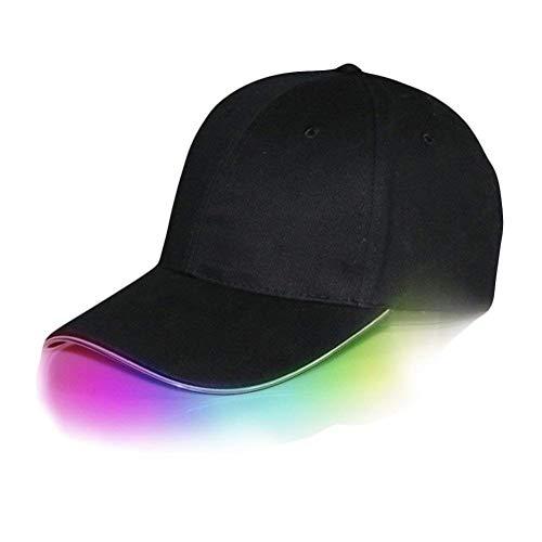 Saoye Fashion Baseball Kappe Reise Schlichte Cap Herren Baseballkappe Led Beleuchtet Leuchten