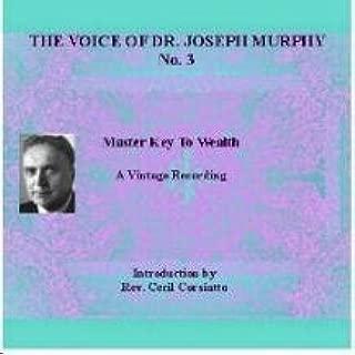 Voice of Joseph Murphy Audio Cd No. 3 Master Key to Wealth