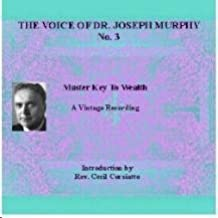 Voice of Joseph Murphy Audio Cd No. 3 Master Key to Wealth